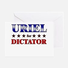 URIEL for dictator Greeting Card
