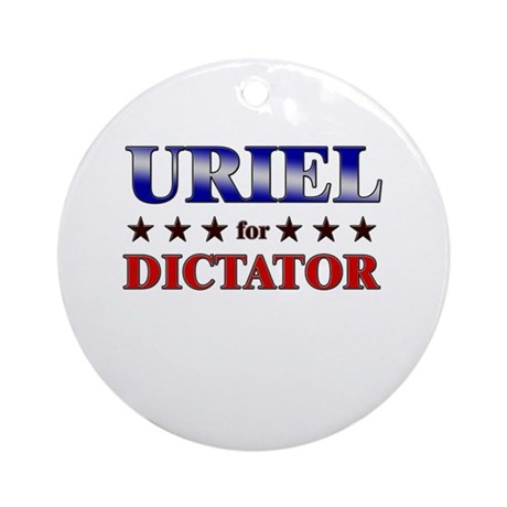URIEL for dictator Ornament (Round)