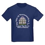 My Idea of Housework Is... Kids Dark T-Shirt