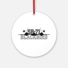 SR-71 Blackbird Ornament (Round)