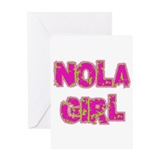 NOLA Girl Greeting Card