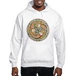 Celtic Fish Hooded Sweatshirt