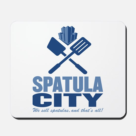 spatula city Mousepad