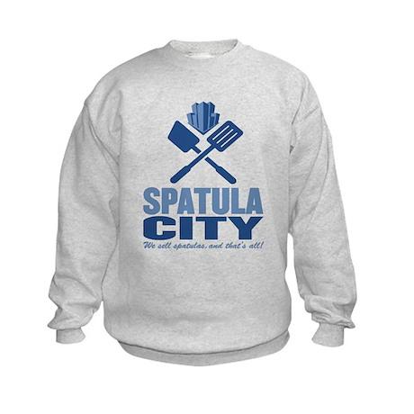 spatula city Kids Sweatshirt
