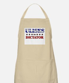 ULISES for dictator BBQ Apron