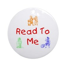 Read-Storybook Ornament (Round)