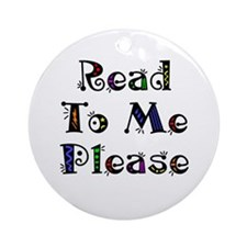 Read to Me Fun Ornament (Round)