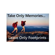 Take Only Memories Rectangle Magnet