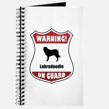 Labradoodle On Guard Journal