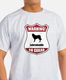 Labradoodle On Guard T-Shirt