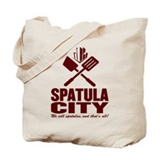 spatula city Tote Bag