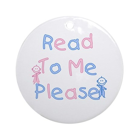 Read to Me Babies Ornament (Round)