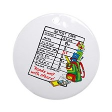Reads Well with Others! Ornament (Round)