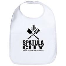 spatula city Bib