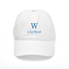W is for Wyatt Baseball Cap