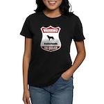 Kookier On Guard Women's Dark T-Shirt