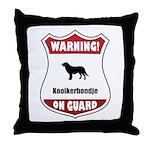 Kookier On Guard Throw Pillow