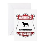 Kookier On Guard Greeting Cards (Pk of 20)