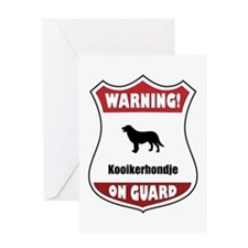 Kookier On Guard Greeting Card