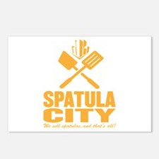 spatula city Postcards (Package of 8)
