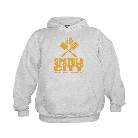 spatula city Kids Hoodie