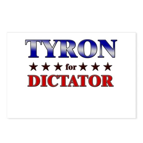 TYRON for dictator Postcards (Package of 8)
