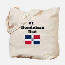 #1 Dominican Dad Tote Bag