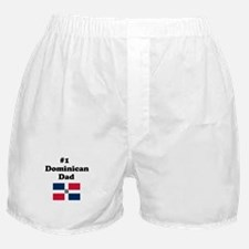 #1 Dominican Dad Boxer Shorts