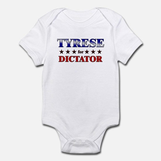 TYRESE for dictator Infant Bodysuit