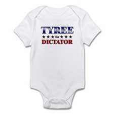 TYREE for dictator Infant Bodysuit