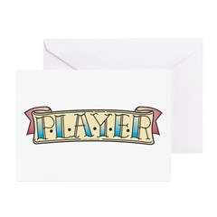 Tattoo art Greeting Cards (Pk of 10)