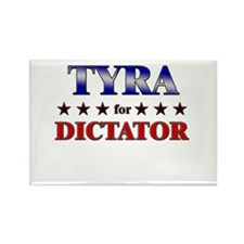 TYRA for dictator Rectangle Magnet