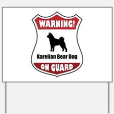 Karelian On Guard Yard Sign