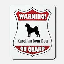 Karelian On Guard Mousepad
