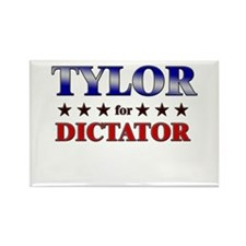 TYLOR for dictator Rectangle Magnet