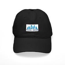 Think Snow Baseball Hat