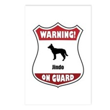 Jindo On Guard Postcards (Package of 8)