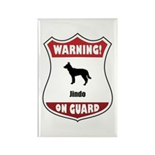 Jindo On Guard Rectangle Magnet