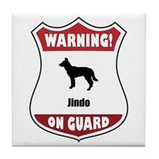Jindo On Guard Tile Coaster