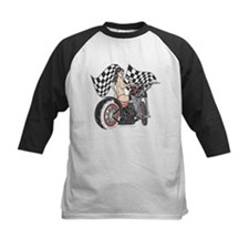 Pin Up Girl On Chopper Tee