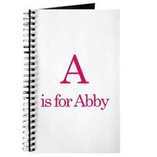 A is for Abby Journal