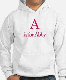 A is for Abby Hoodie