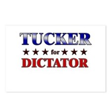 TUCKER for dictator Postcards (Package of 8)