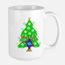 Christmas and Hanukkah Interfaith Mug