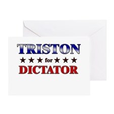 TRISTON for dictator Greeting Card