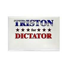 TRISTON for dictator Rectangle Magnet