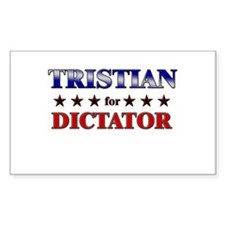 TRISTIAN for dictator Rectangle Decal