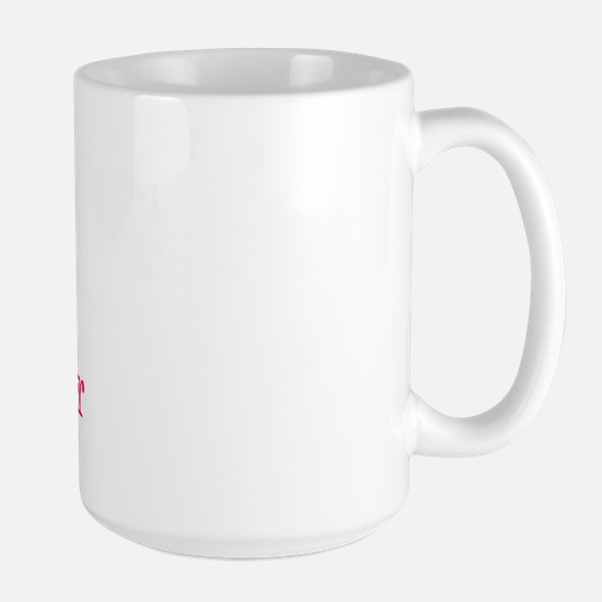 A is for Amber Large Mug