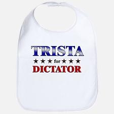 TRISTA for dictator Bib