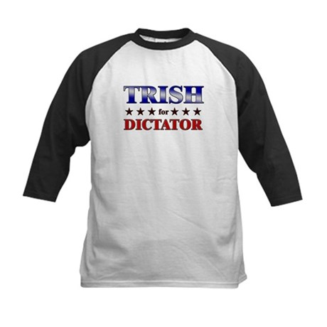 TRISH for dictator Kids Baseball Jersey
